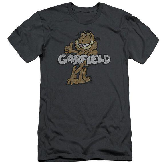 Garfield Retro Garf Short Sleeve Adult T-Shirt