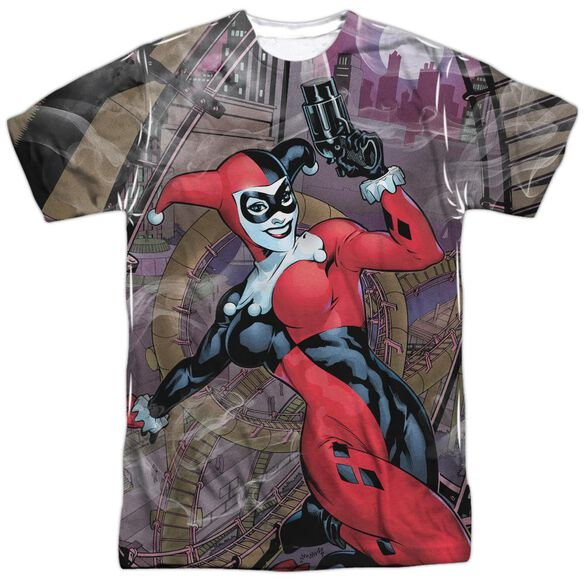 Batman Roller Coaster Of Love Short Sleeve Adult Poly Crew T-Shirt
