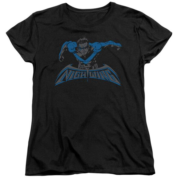 Batman Wing Of The Night Short Sleeve Womens Tee T-Shirt