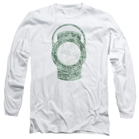 Dc Lantern Cover Long Sleeve Adult T-Shirt