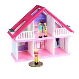 World's Smallest Barbie Dream House with Random Barbie Doll