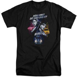 2 FAST 2 FURIOUS FAST WOMEN - S/S ADULT TALL - BLACK - 3X - BLACK T-Shirt