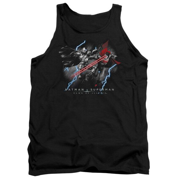 Batman V Superman Lightning V Heat Vision Adult Tank