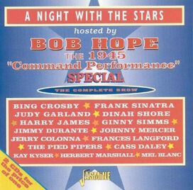 Various Artists - Night With Stars Hosted By Bob Hope: 1945 Command Performance