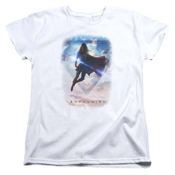 Supergirl Endless Sky Short Sleeve Womens Tee T-Shirt