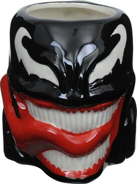 Venom Head Sculpted Mug
