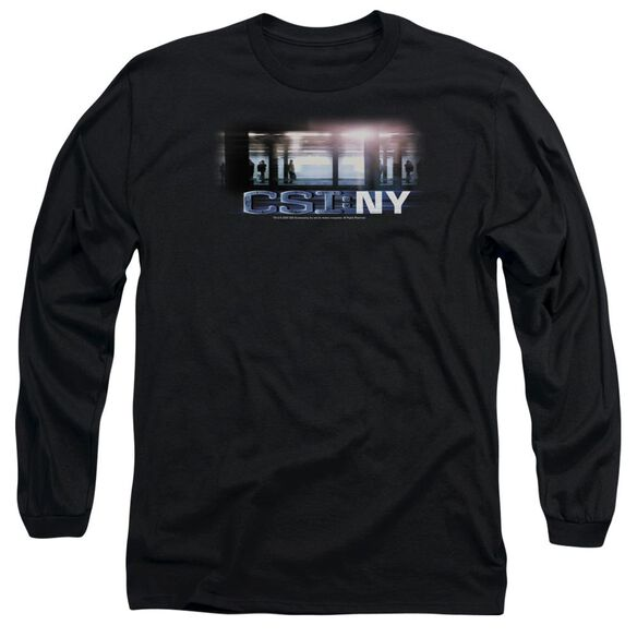 CSI NEW YORK SUBWAY - L/S ADULT 18/1 - BLACK T-Shirt