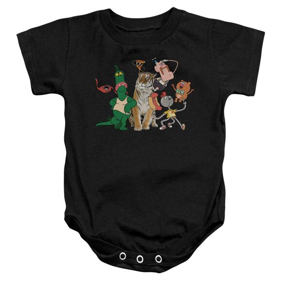 Uncle Grandpa Group Infant Snapsuit Black