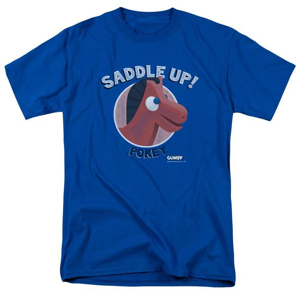 Gumby Saddle Up Short Sleeve Adult T-Shirt