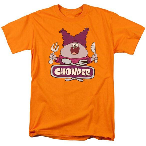 Chowder Logo Short Sleeve Adult T-Shirt