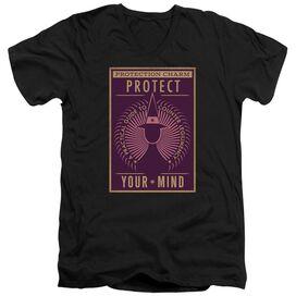 Fantastic Beasts Protect Your Mind Short Sleeve Adult V Neck T-Shirt