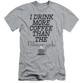 Gilmore Girls More Coffee Hbo Short Sleeve Adult Athletic T-Shirt