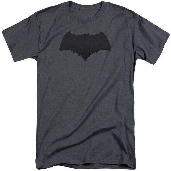 Justice League Movie Batman Logo Short Sleeve Adult Tall T-Shirt