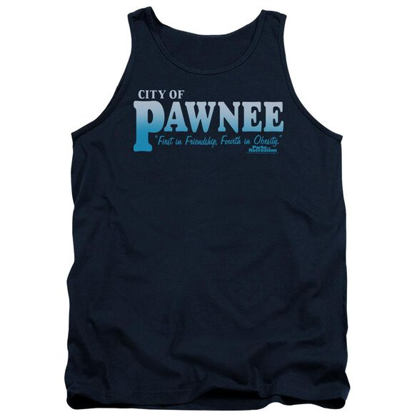 Parks And Rec Pawnee Adult Tank
