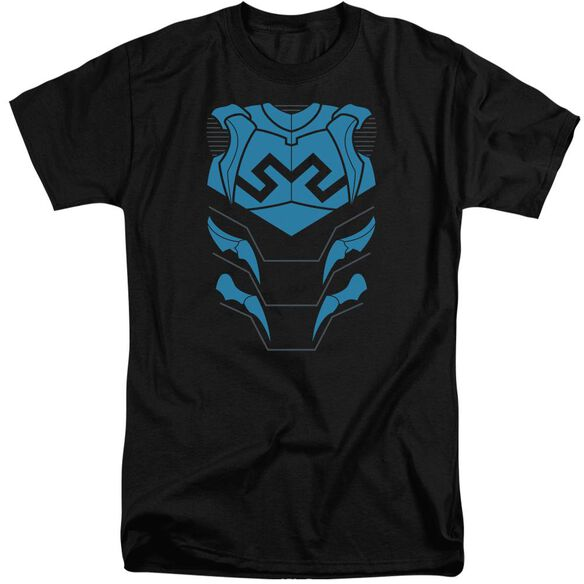 Jla Blue Beetle Short Sleeve Adult Tall T-Shirt