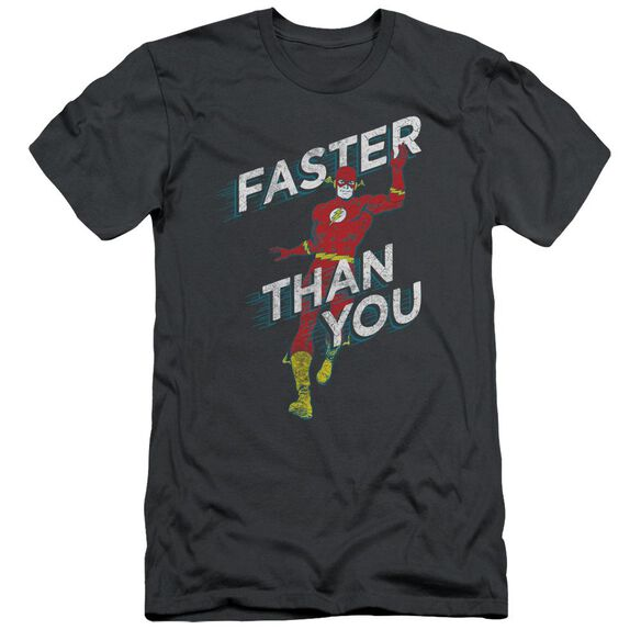 Dc Faster Than You Short Sleeve Adult T-Shirt