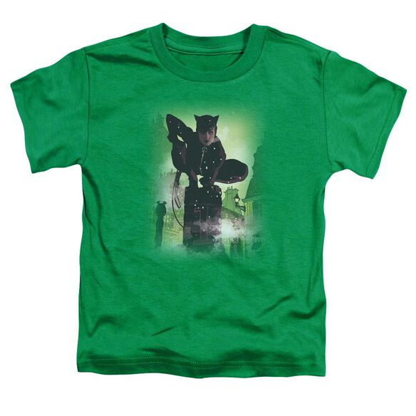 Batman Catwoman #63 Cover Short Sleeve Toddler Tee Kelly Green Sm T-Shirt