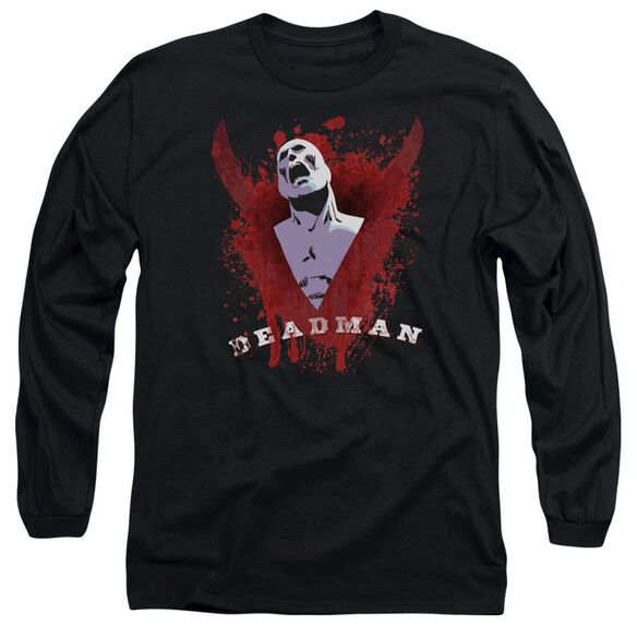Jla Possession Long Sleeve Adult T-Shirt