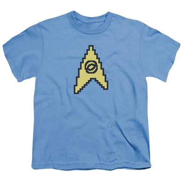 Star Trek 8 Bit Science Short Sleeve Youth Carolina T-Shirt