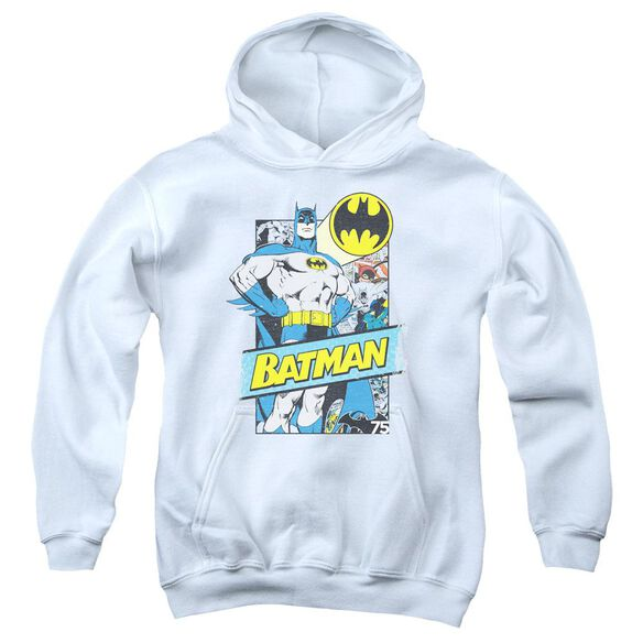 Batman Out Of The Pages Youth Pull Over Hoodie