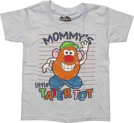 Mr Potato Head Mommy's Tater Tot Toddler T-Shirt