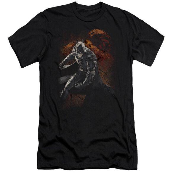 Dark Knight Rises Grungy Knight Short Sleeve Adult T-Shirt