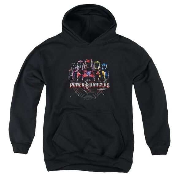 Power Rangers Ranger Circuitry Youth Pull Over Hoodie