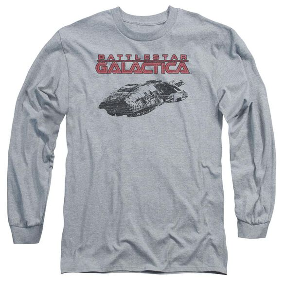 Bsg Ship Logo Long Sleeve Adult Athletic T-Shirt