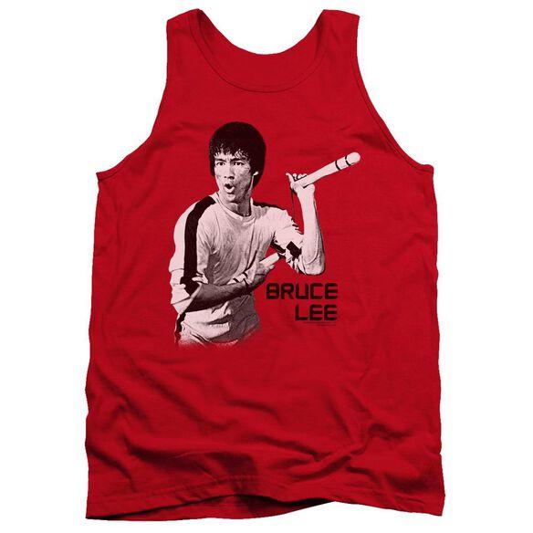 Bruce Lee Nunchucks Adult Tank