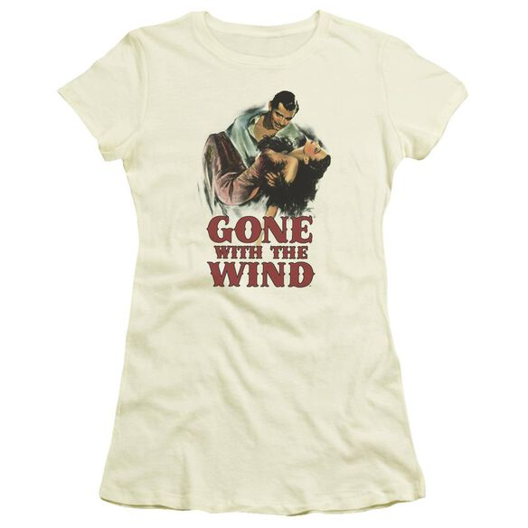 Gone With The Wind My Hero Short Sleeve Junior Sheer T-Shirt