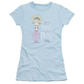 I Dream Of Jeannie Think And Blink Short Sleeve Junior Sheer Light T-Shirt