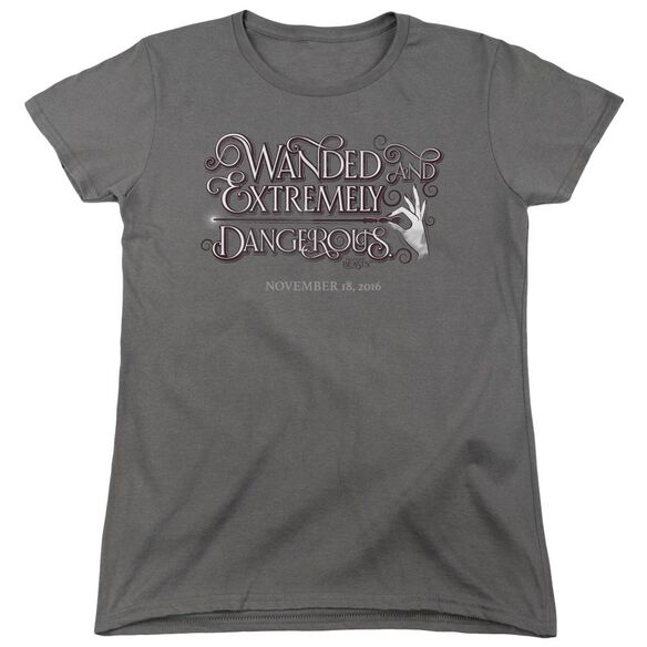 Fantastic Beasts Wanded Short Sleeve Womens Tee T-Shirt