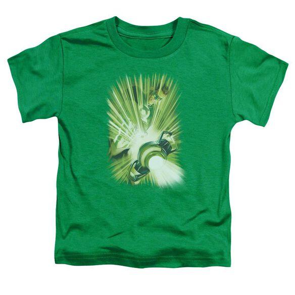 Green Lantern Lantern's Light Short Sleeve Toddler Tee Kelly Green Lg T-Shirt