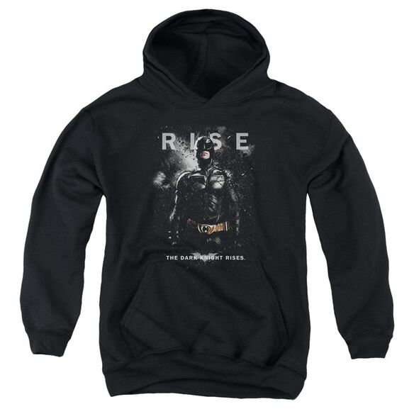 Dark Knight Rises Batman Rise Youth Pull Over Hoodie
