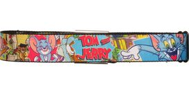 Tom and Jerry Cartoon Images Seatbelt Mesh Belt