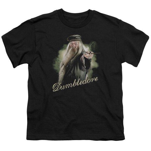 Harry Potter Dumbledore Wand Short Sleeve Youth T-Shirt