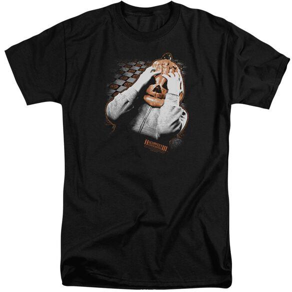 Halloween Iii Pumpkin Mask Short Sleeve Adult Tall T-Shirt