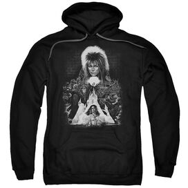 Labyrinth Castle Adult Pull Over Hoodie