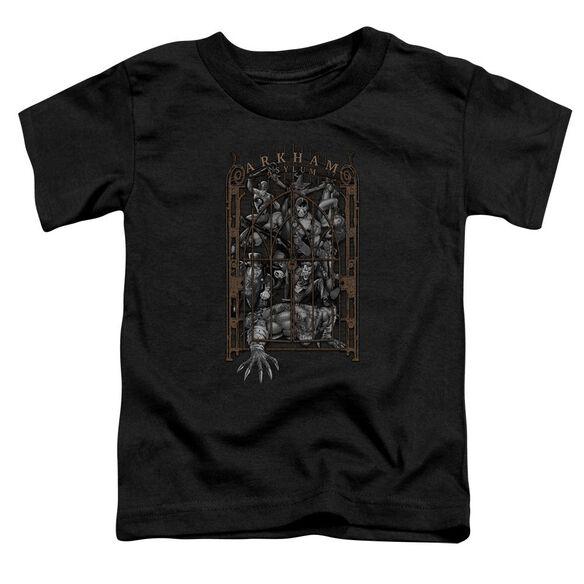 Batman Arkham's Gate Short Sleeve Toddler Tee Black T-Shirt