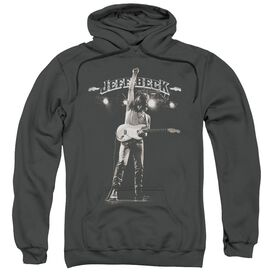 Jeff Beck Guitar God Adult Pull Over Hoodie