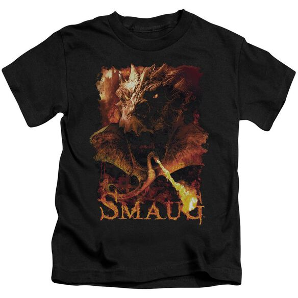 Hobbit Smolder Short Sleeve Juvenile Black T-Shirt