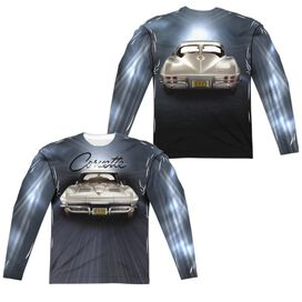 Chevrolet Bright Lights (Front Back Print) Long Sleeve Adult Poly Crew T-Shirt