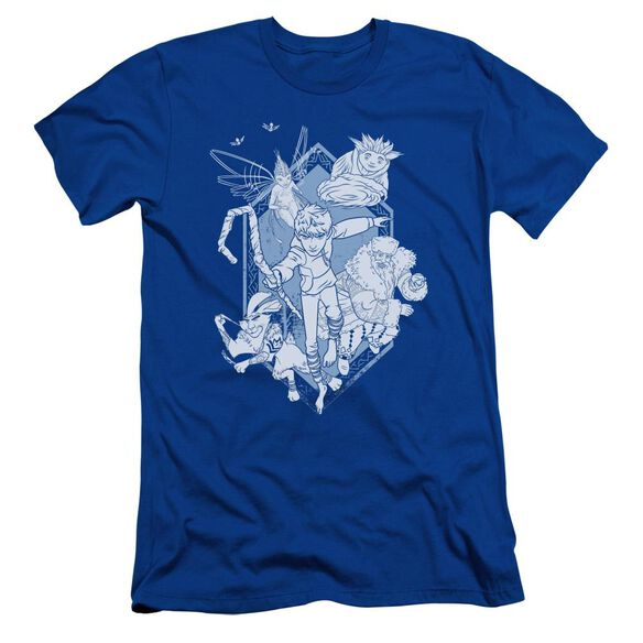 Rise Of The Guardians Coming For You Short Sleeve Adult Royal T-Shirt