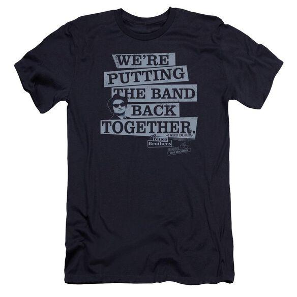Blues Brothers Band Back Premuim Canvas Adult Slim Fit