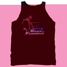 Fast And The Furious Car Ride - Adult Tank - Black - 2x - Black