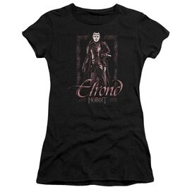 The Hobbit Elrond Stare Short Sleeve Junior Sheer T-Shirt