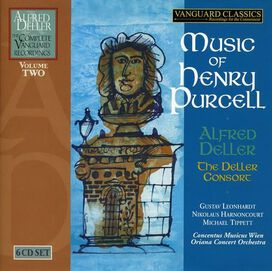 Alfred Deller - Music of Henry Purcell [Box Set]