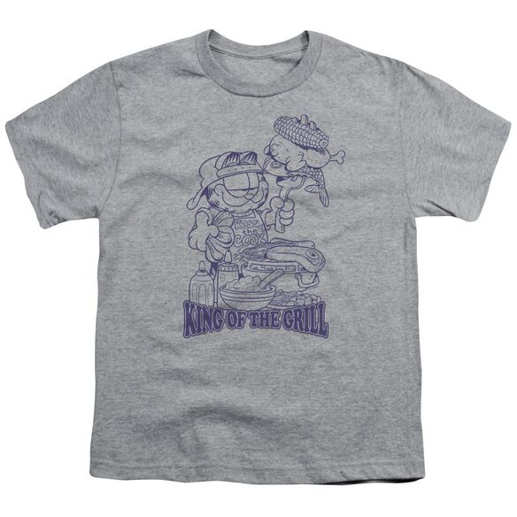 GARFIELD KING OF THE GRILL - S/S YOUTH 18/1 - T-Shirt