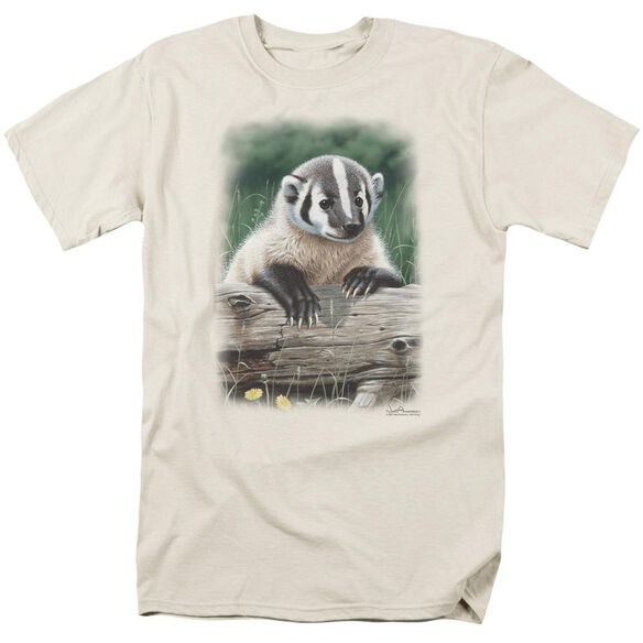 Wildlife Out Of The Meadow Short Sleeve Adult Cream T-Shirt