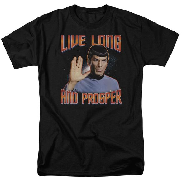 St Original Live Long And Prosper Short Sleeve Adult T-Shirt